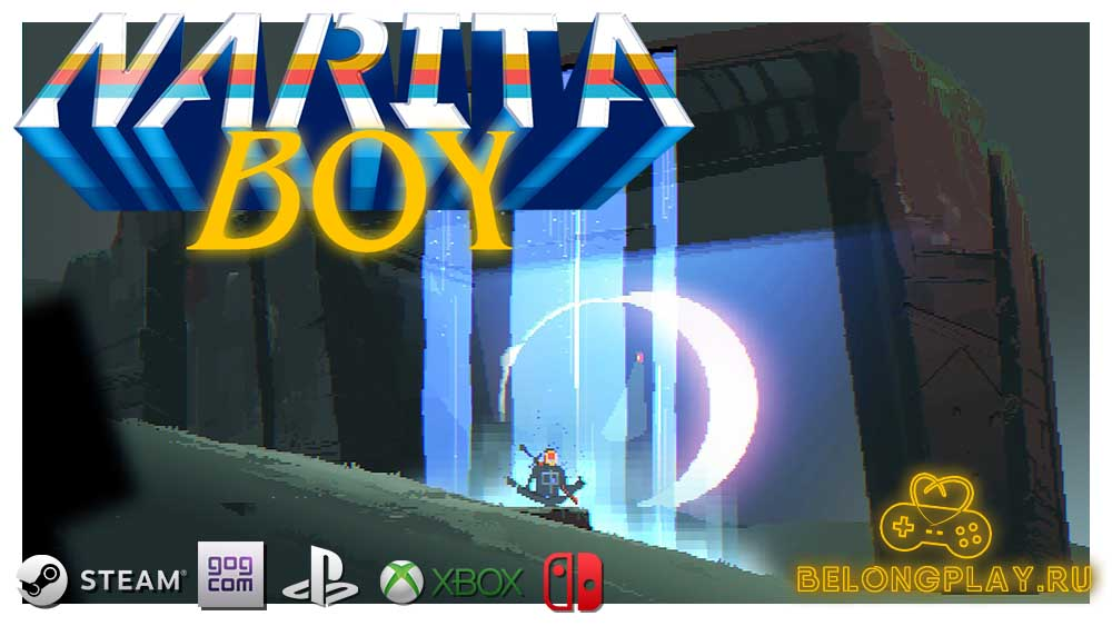 NARITA BOY WALLPAPER LOGO ART