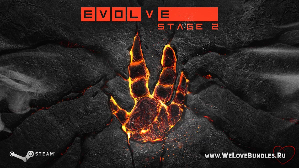 evolve stage 2 game art logo