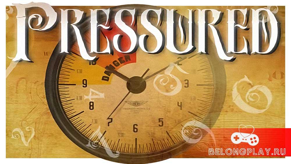 Pressured game art logo