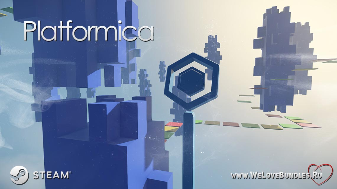 platformica game art logo