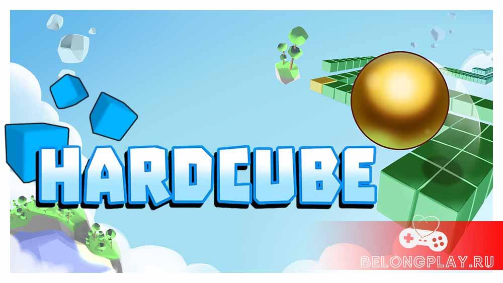 hardcube game art logo