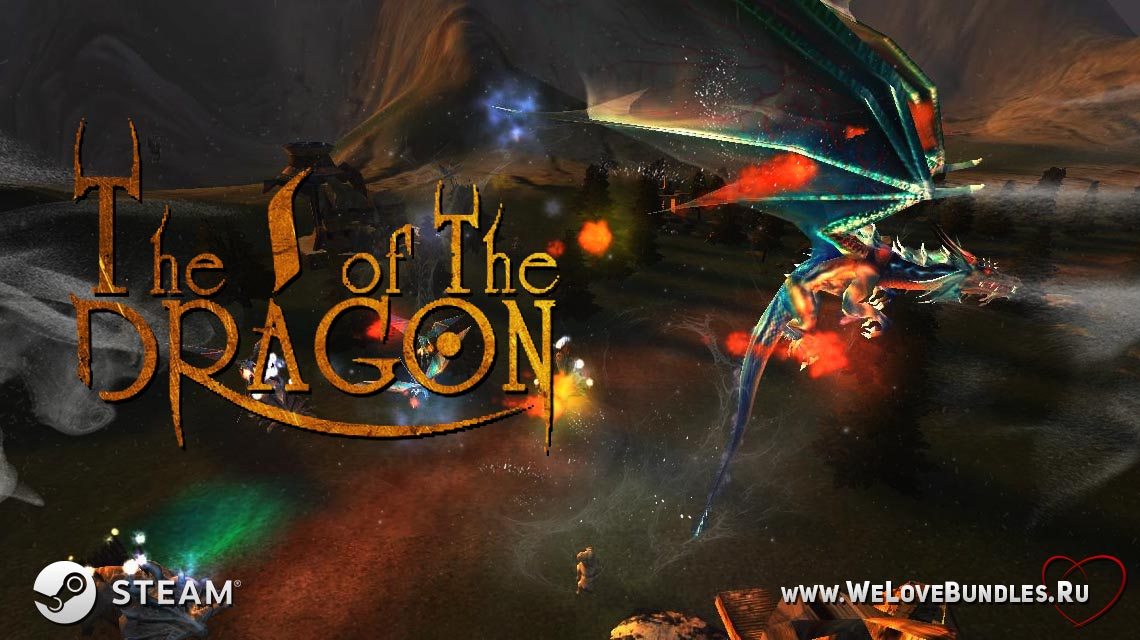 The I of the Dragon game art logo