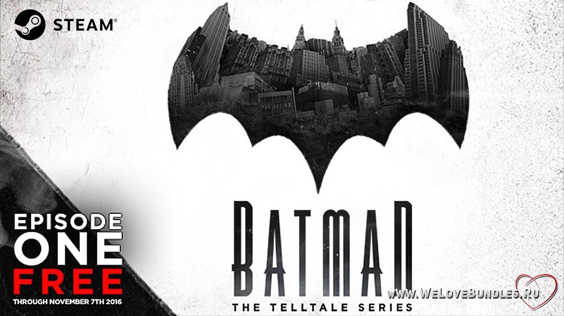 batman telltale episode 1 game art logo