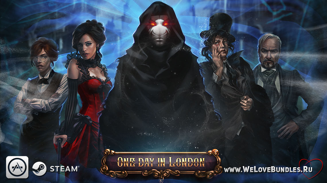 one day in london game art logo