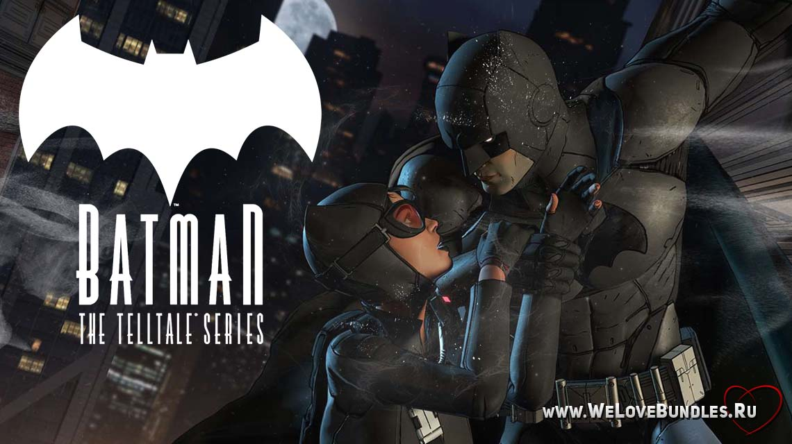 BATMAN Telltale game game art logo
