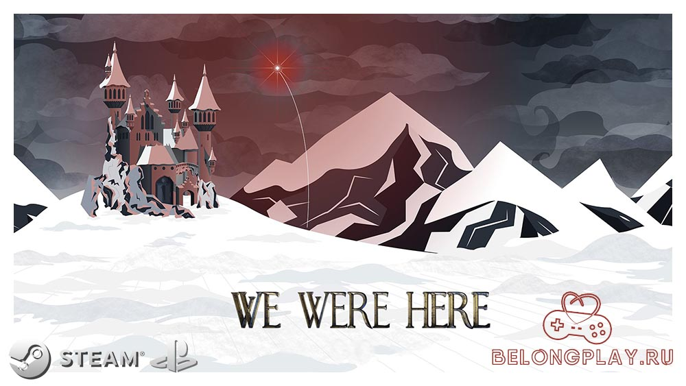 We Were Here game art logo wallpaper