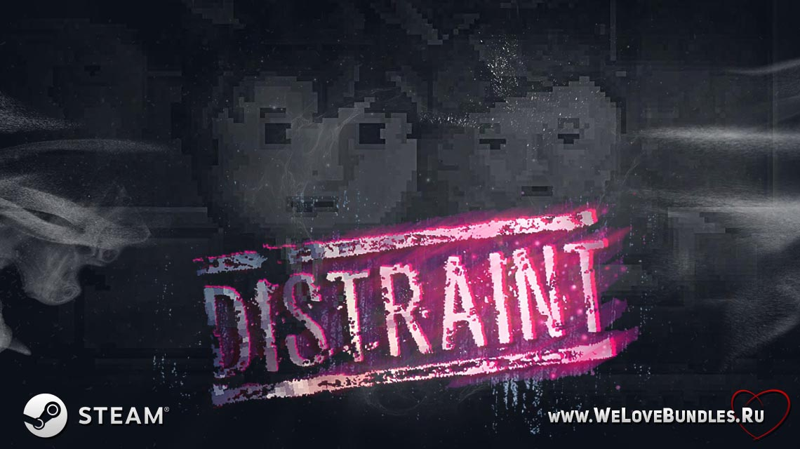 distraint game art logo