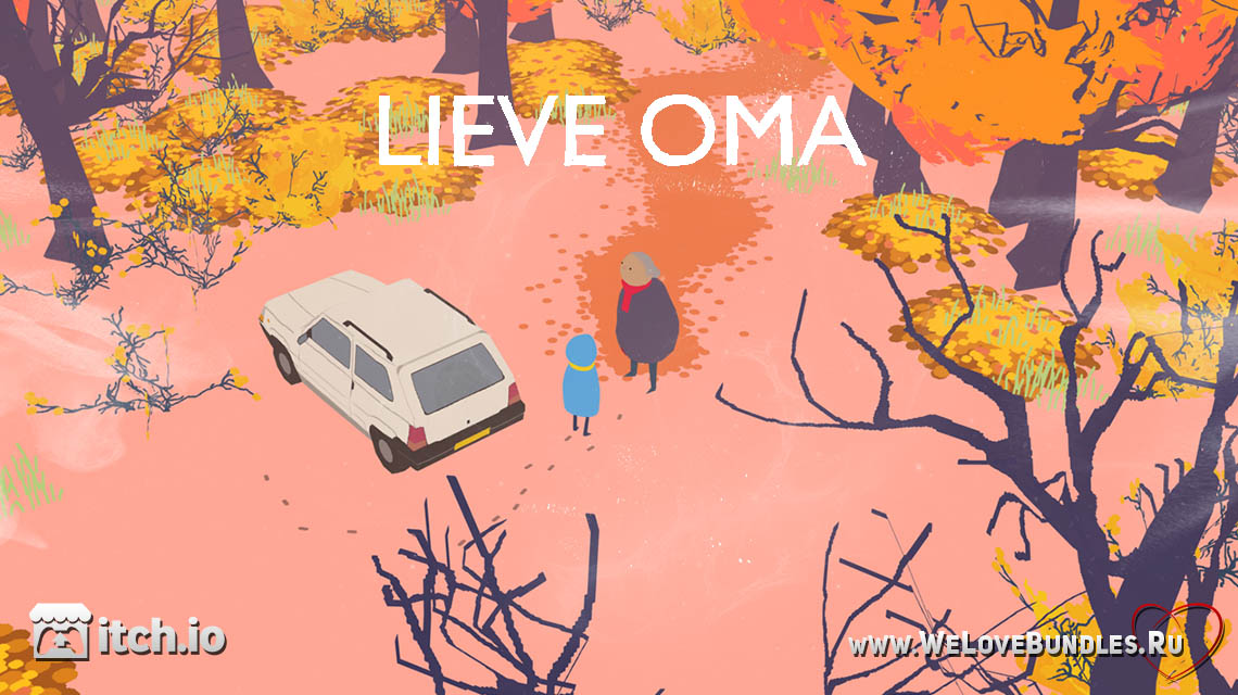 lieve oma game art logo