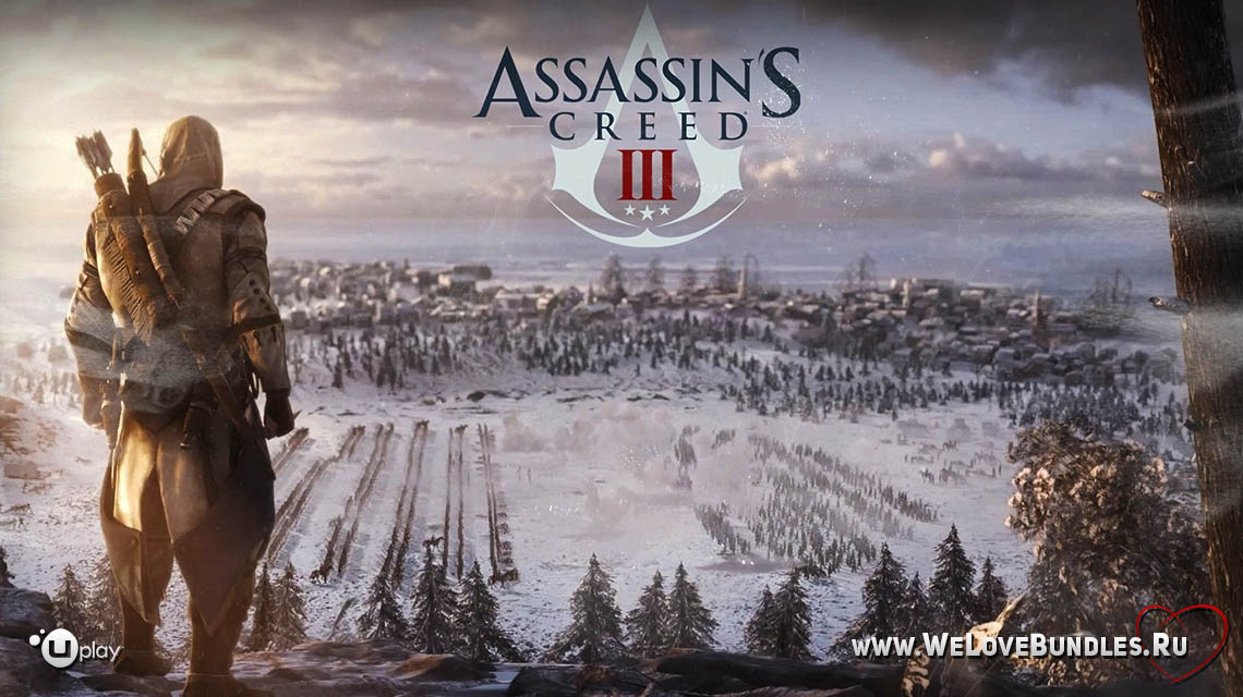 assasins creed 3 game art logo