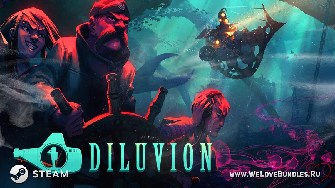 diluvion game art logo