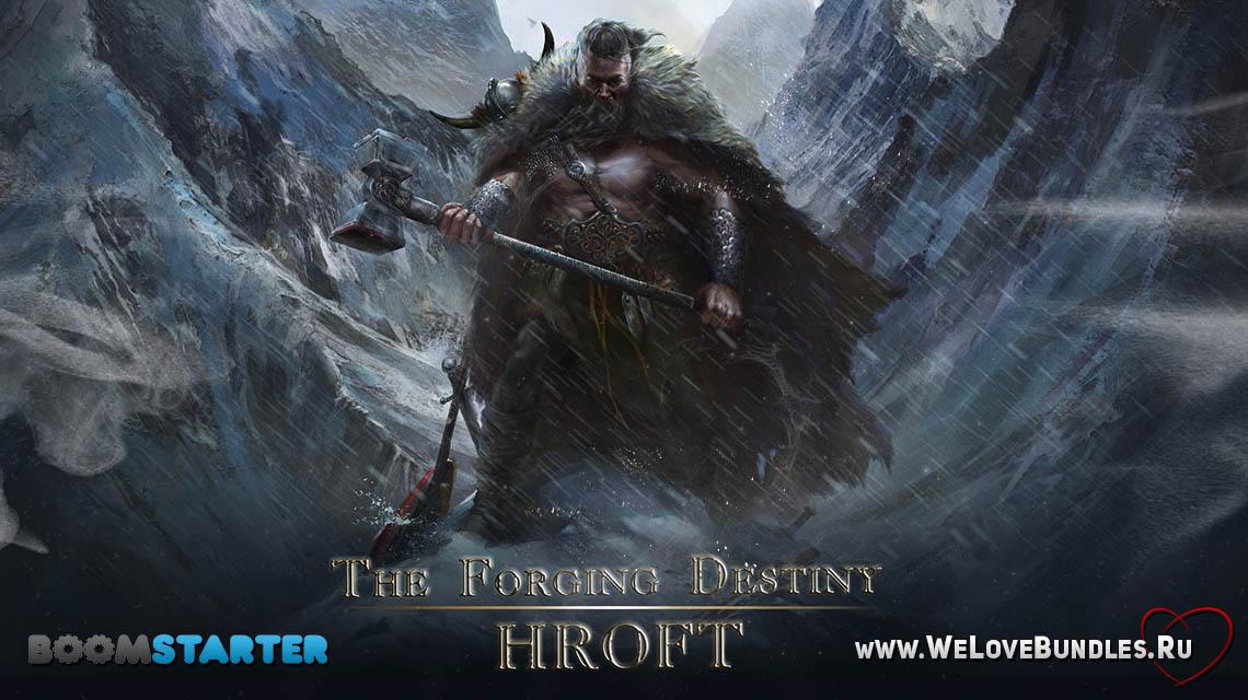 forging destiny hroft game art logo