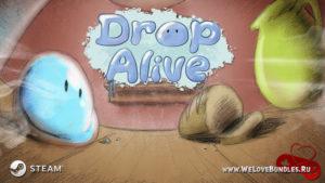 Бесплатная Steam-игра Drop Alive – путешествие капли от кухни до реки