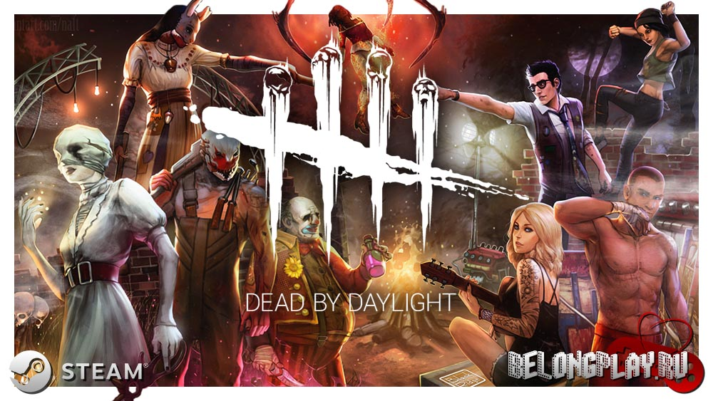 Dead by Daylight logo art cover wallpaper