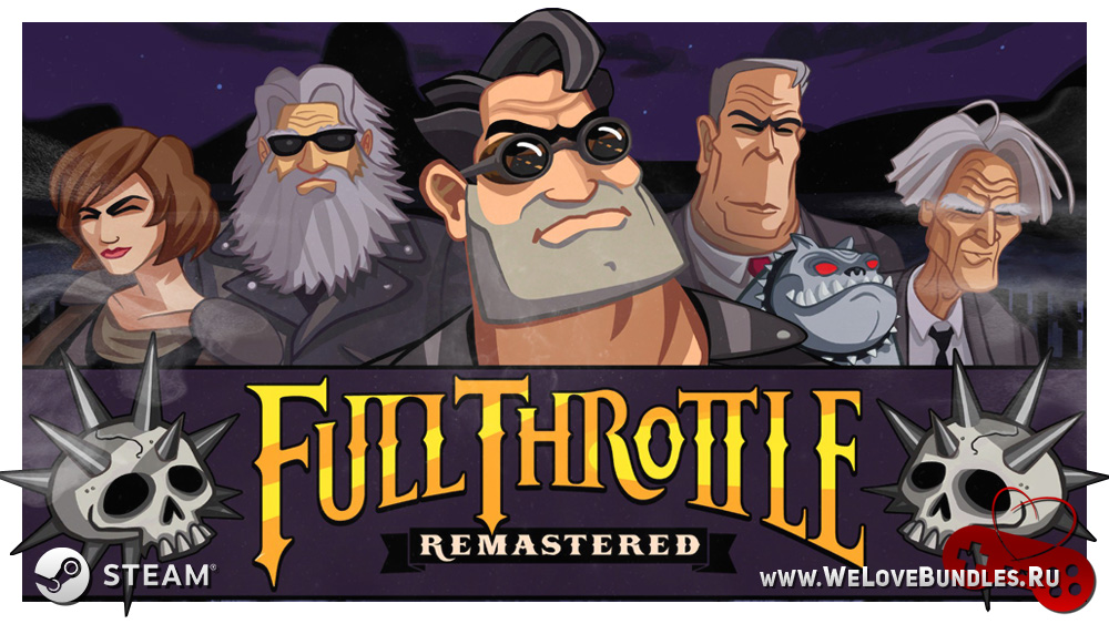 FullThrottleRemastered game art logo