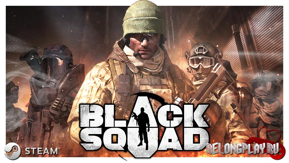 Black Squad logo art wallpaper