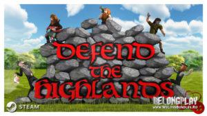 Раздача Steam ключей от игры Defend The Highlands