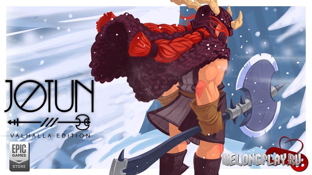 Jotun: Valhalla Edition logo art wallpaper