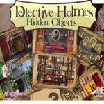 Бесплатная мобильная игра Detective Holmes: Hidden Objects