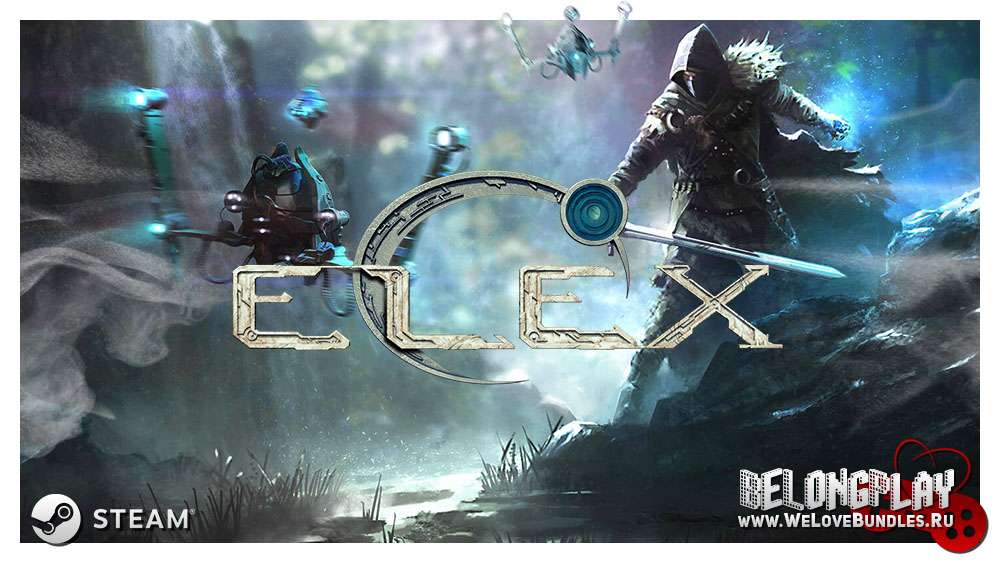 ELEX logo wallpaper