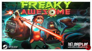 """Игра Freaky Awesome – """"рогалик"""" на мутагенах"""
