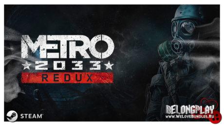 Metro 2033 (Redux) wallpaper logo