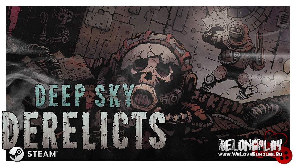 Deep Sky Derelicts logo wallpaper