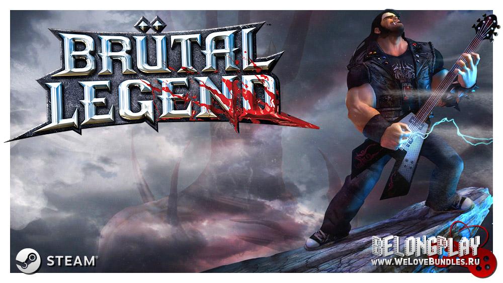 Brutal Legend Logo Wallpaper