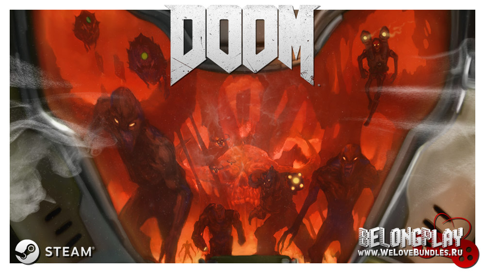 DOOM Wallpaper Logo
