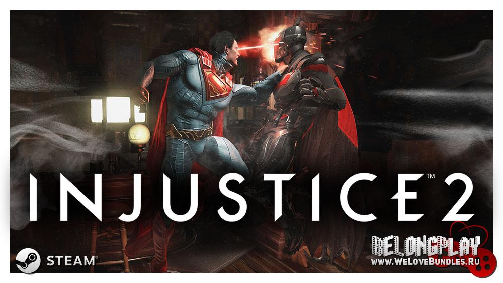 Injustice 2 logo wallpaper