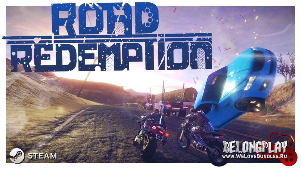 ROAD REDEMPTION logo wallpaper
