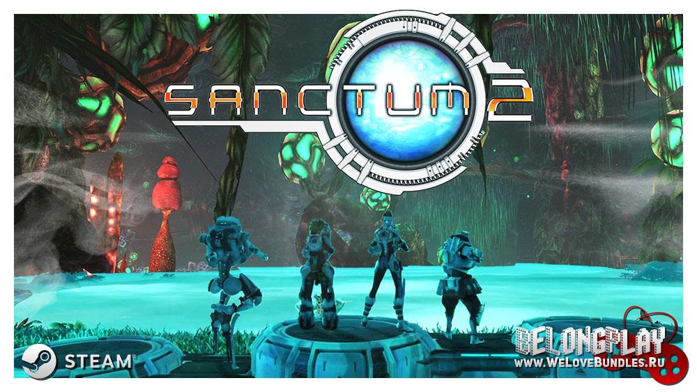Sanctum 2 logo wallpaper