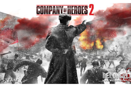Company of Heroes 2 logo wallpaper art