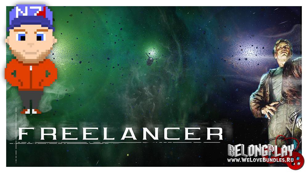 Freelancer game wallpaper logo art