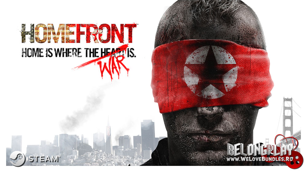 Homefront Logo Art Wallpaper