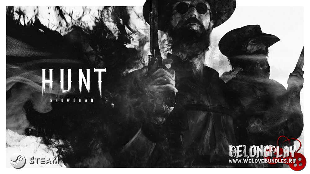 HUNT: SHOWDOWN art logo wallpaper