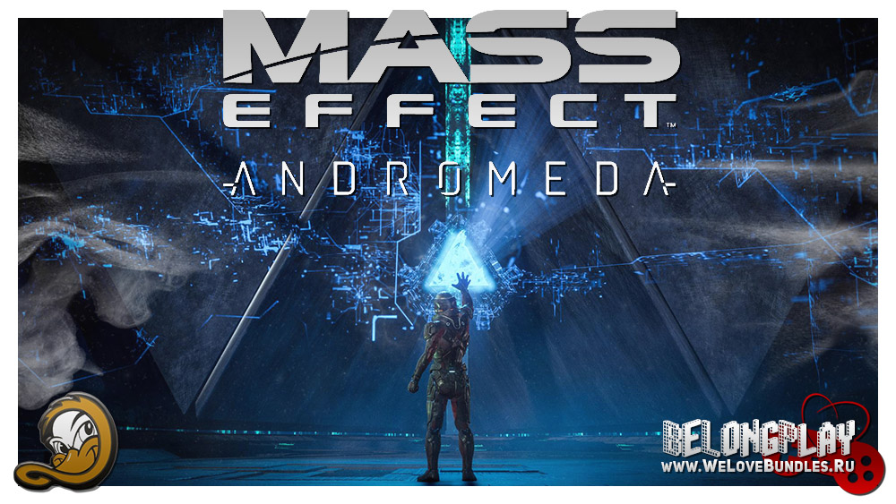 MASS EFFECT: ANDROMEDA wallpaper art logo