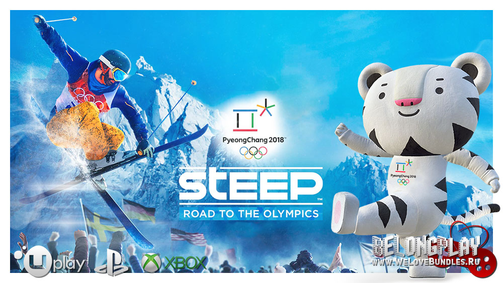 Steep: Road to the Olympics wallpaper logo