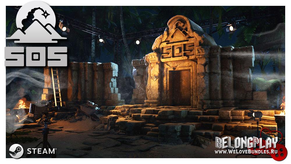 SOS Steam Game art wallpaper logo