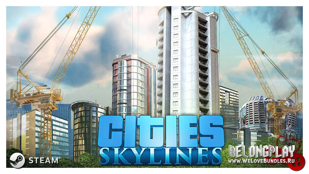 Cities: Skylines wallpaper logo art