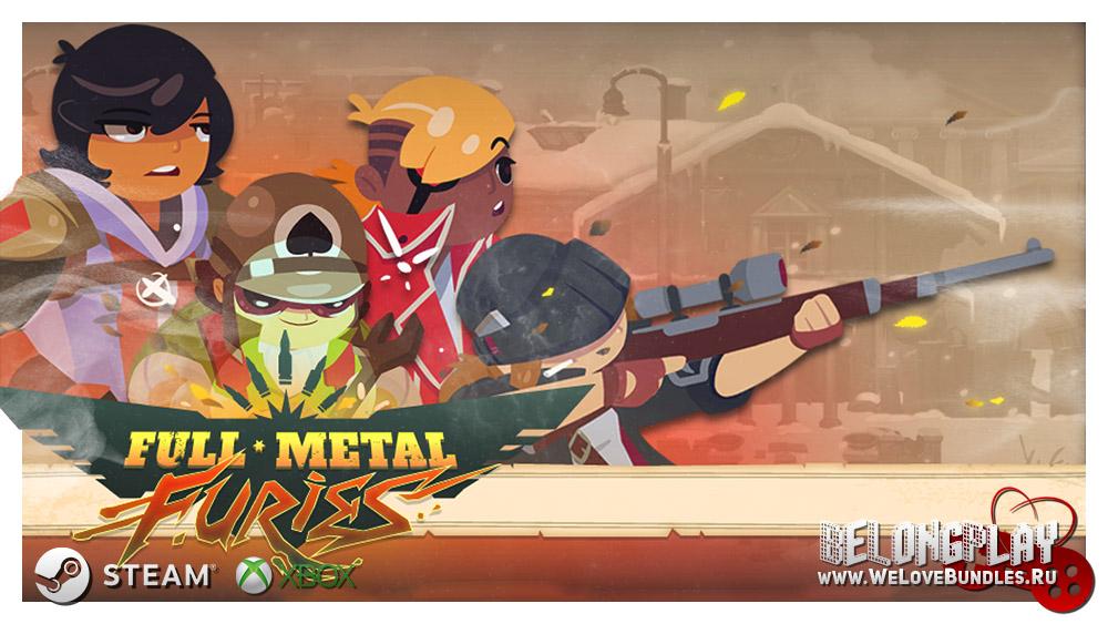 Full Metal Furies logo art wallpaper