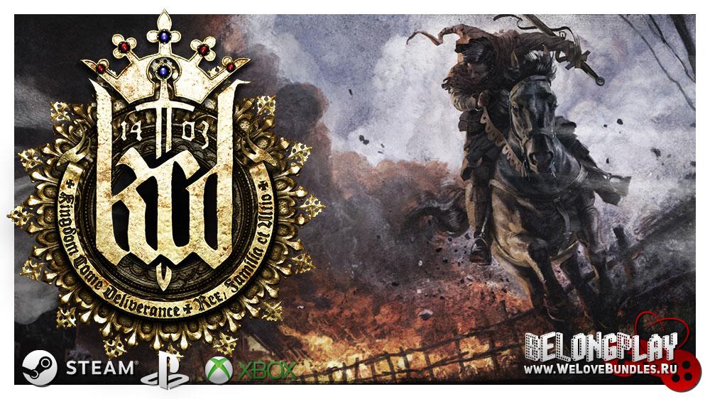 Kingdom Come: Deliverance LOGO ART WALLPAPER