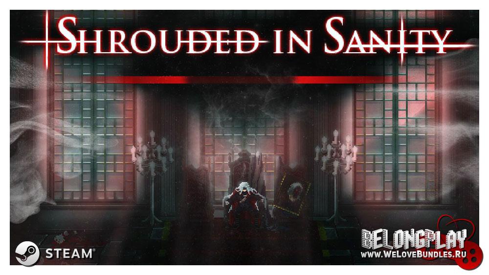 Shrouded in Sanity art logo wallpaper