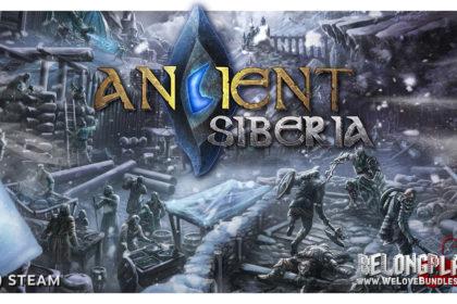 Ancient Siberia logo wallpaper art