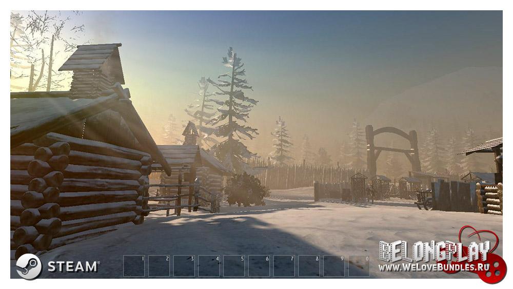 Зимний режим в игре Ancient Siberia