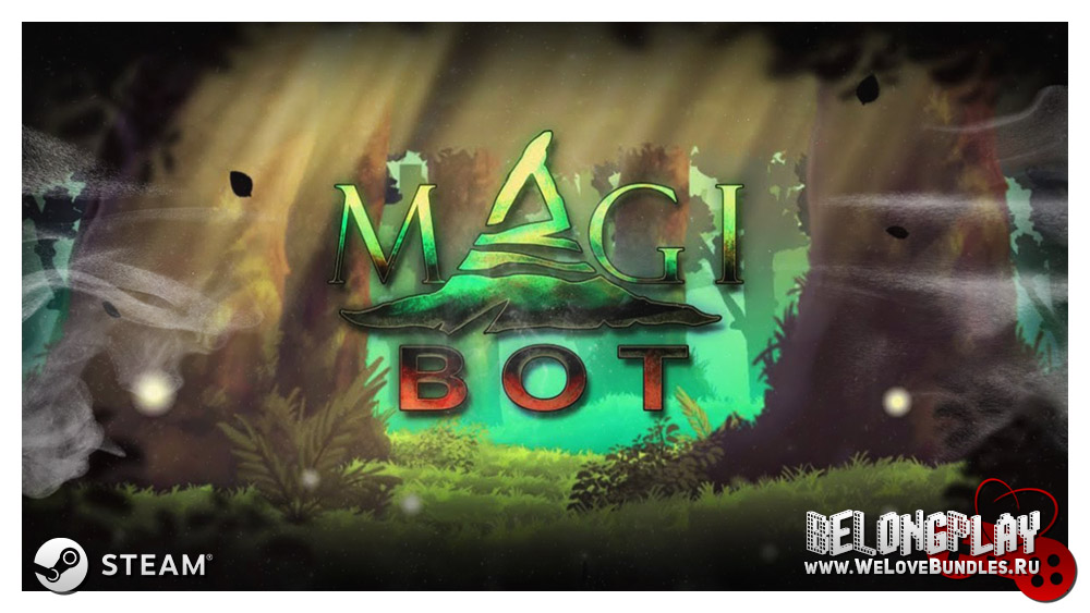 magibot game art logo