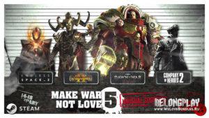 Старт акции от SEGA: Make War Not Love 5