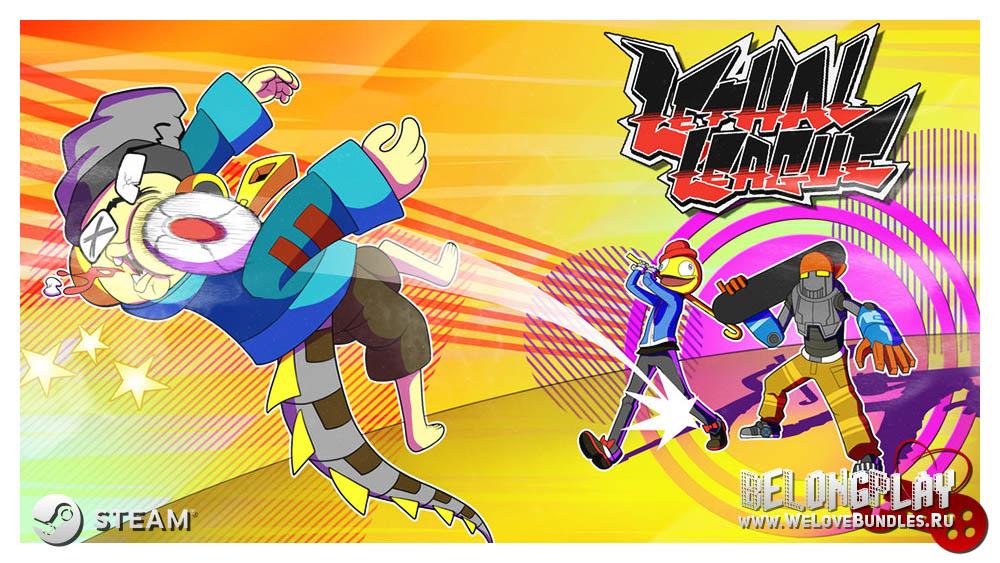 Lethal League art game wallpaper logo