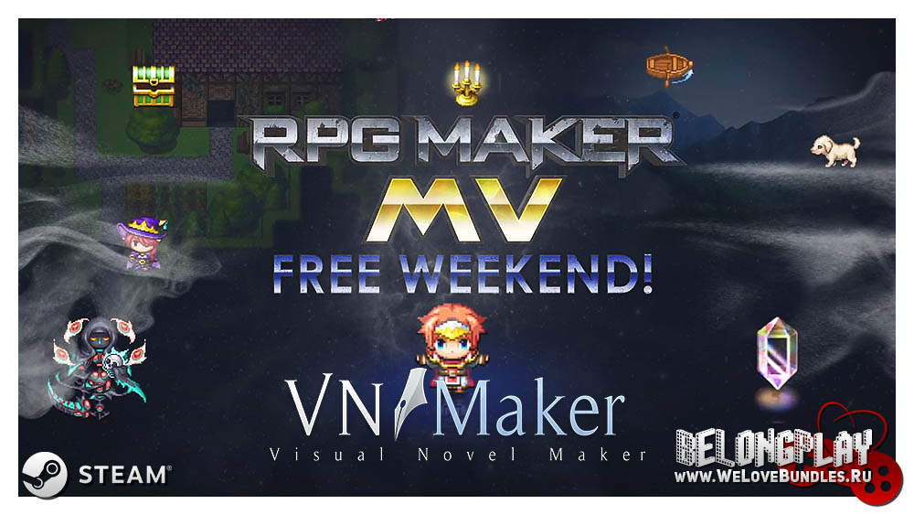 RPG Maker MV game art logo