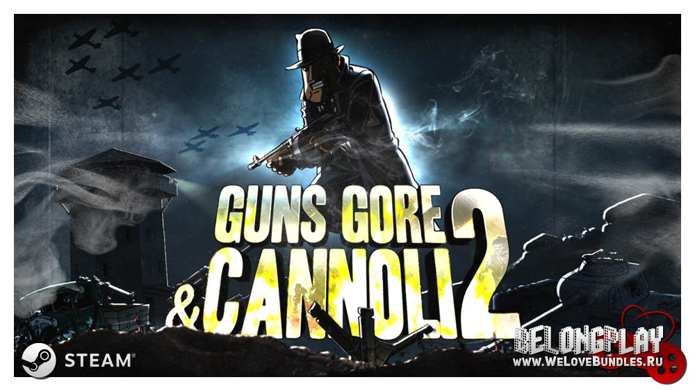 Guns, Gore & Cannoli 2 art wallpaper