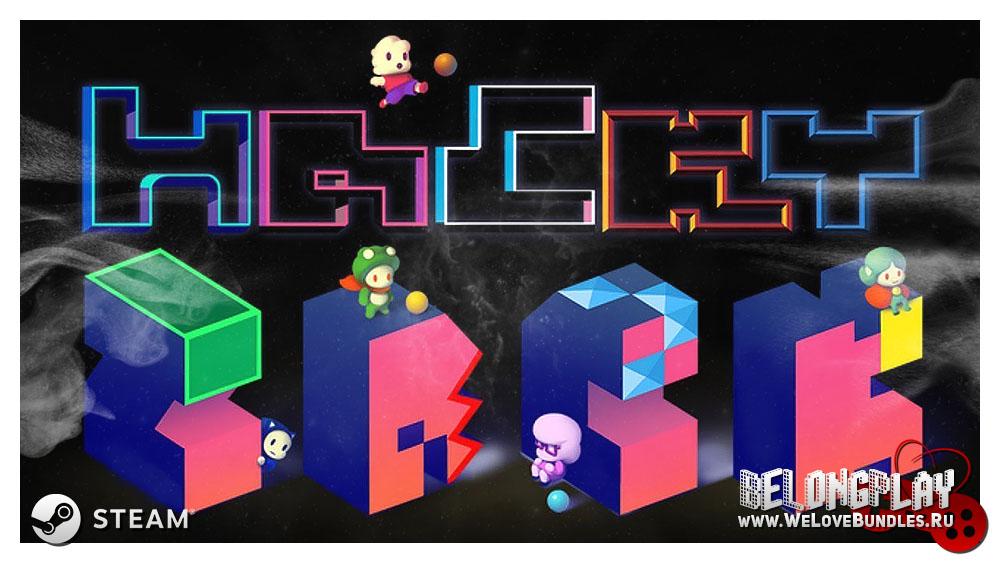 HackyZack logo game art